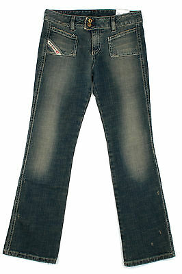 Diesel Girls Denim Jeans New Phush Y2Y Kids Age 8-9 Years NEW RRP £80
