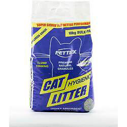 Cat Litter Kitten Litter Huge Bag Long Lasting Pettex Premium Cat Litter 10kg