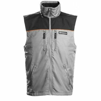 Husqvarna High Quality Grey Thermal Vest / Gilet / Body Warmer - All Sizes