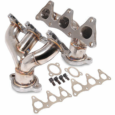 Stainless Steel Race Sport 3-1 Exhaust Manifolds For Mitsubishi Fto 2.0 V6 Mivec