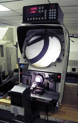 """13"""" Gage Master Gagemaster Bench Top Optical Comparator w/ DRO, 10X"""