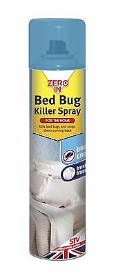 Zero In Bed Bug Killer Spray - 300ml Aerosol