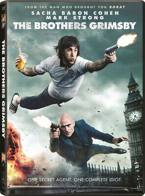 Brothers Grimsby (2016, REGION 1 DVD New)