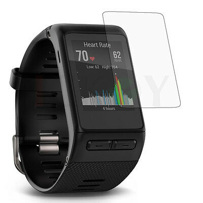 Clear LCD Screen Protector Cover Film for Garmin Sporting Watch Vivoactive HR +
