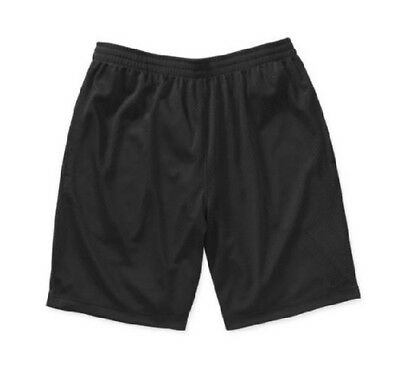 Starter Men's Active Short Rich Mesh Black; Many Sizes!!