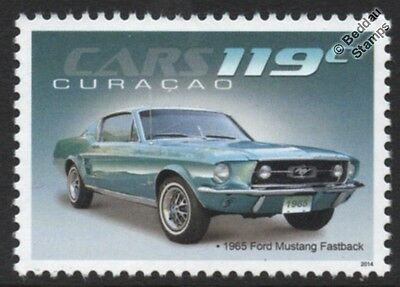 1965 FORD MUSTANG Fastback Classic Sports Car Stamp