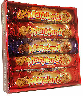 Maryland Choc Chocolate Chip Variety Biscuit 5 pack
