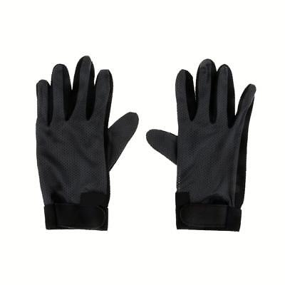 Stretchable Antiskid Pimple Palm Horse Riding Equestrian Gloves S/M/L/XL