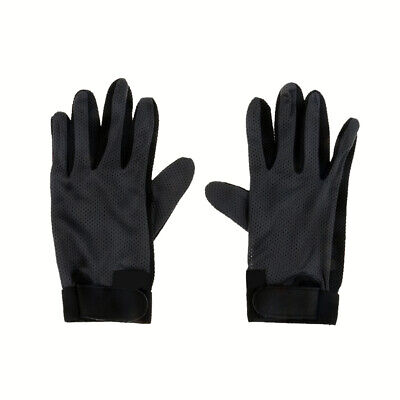 Stretchable Pimple Palm Competition Horse Riding Equestrian Grip Gloves S/M/L/XL