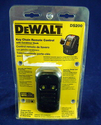 Dewalt DS200 Key Chain Remote for Site Lock JobSite Security System