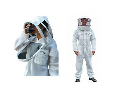 Oz Armour Beekeeping Suit Ventilated Light Weight Bee Suit Super Cool