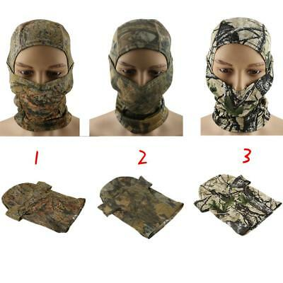 Tactical Camo Balaclava Full Face Mask Hunting Cycling Ski Paintball Cap Hat