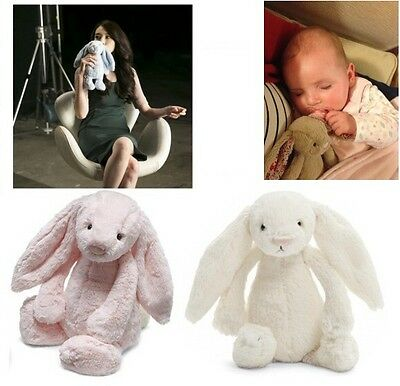 Baby Kids Children Soft Stuffed Long Plush Teddy Bunny Rabbit Crib Bed Toy Doll