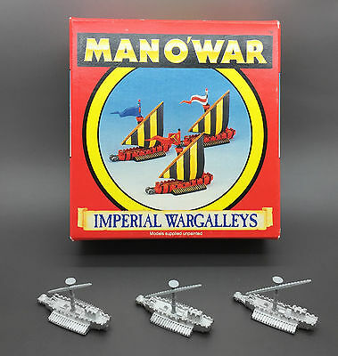 Games Workshop Citadel Warhammer Fantasy Battle Man O War Imperial Wargalleys