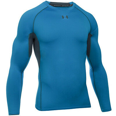 Under Armour Heatgear Compression Longsleeve Shirt brilliant blue 1257471-787