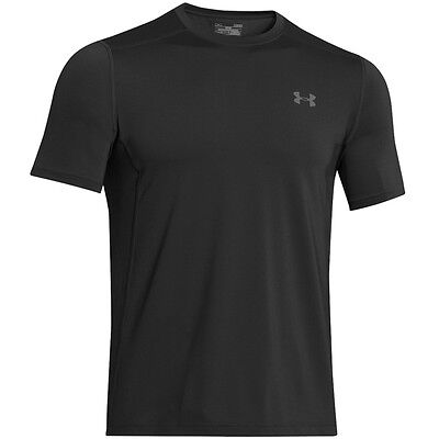 Under Armour HeatGear Sonic Fitted Raid T-Shirt Short Sleeve black 1257466-001