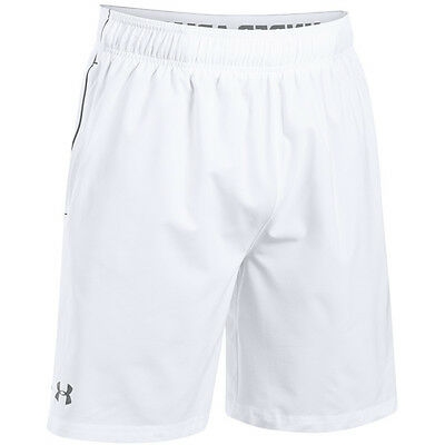 Under Armour Heatgear Mirage Short 8'' white graphite 1240128-101 Shorts Hose