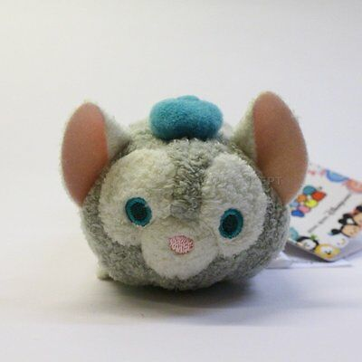 Authentic Hong Kong Disney Tsum Tsum Gelatoni The Cat Duffy's Friend with tag