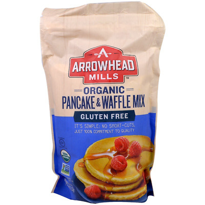New Arrowhead Mills Natural Organic Gluten Free Pancake & Baking Mix Daily Food