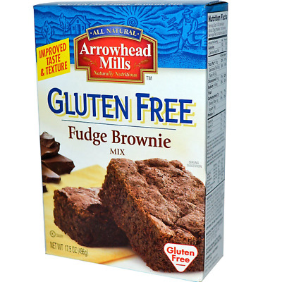 New Arrowhead Mills Natural Organic Gluten Free Fudge Brownie Mix Daily Food