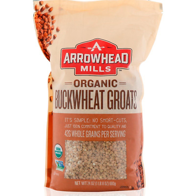 New Arrowhead Mills Natural Organic Gluten Free Buckwheat Groats Daily Food Care