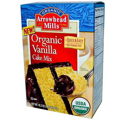 New Arrowhead Mills Natural Organic Vanilla Cake Mix Daily Food Care Healthy
