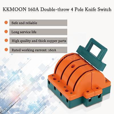 160A Four Pole Double Throw Knife Disconnect Switch Circuit Breaker KKMOON Q3B8