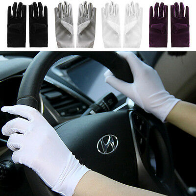 Summer Women's Wedding Driving Cycling Anti UV Sun Protection Gloves Mittens