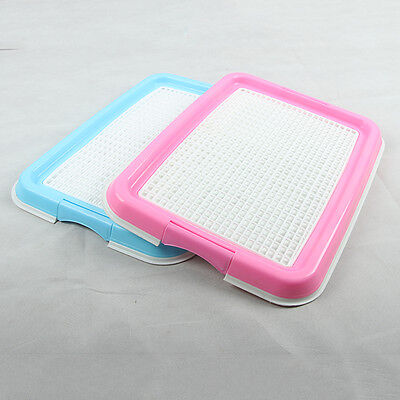 Portable Pet Puppy Cat Dog Doggy Indoor Potty Toilet Training Pads Tray New