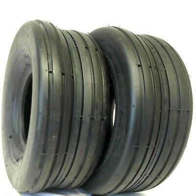 TWO New 13X6.50-6 Lawn Tractor Rib Tires 4 ply 13 650 6 FREE SHIPPING!!