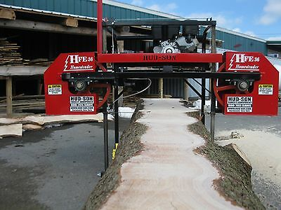 2017 HFE 36 Portable Sawmill Portable Bandmill Band mill lumber saw mill
