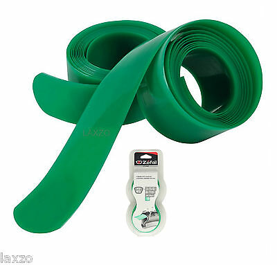 2x Zefal Z Liner Anti Puncture Tyre Liner Green 24 - 26 Inch/34mm Mountain Bike