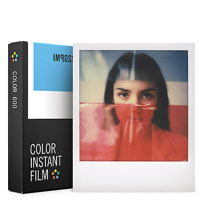 Impossible Project 600 Colour Instant Film White Frame Polaroid 8 Photo PRD_4514