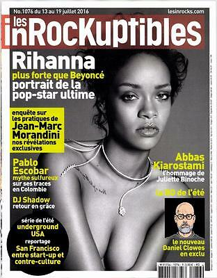 Rihanna New French Les Inrockuptibles Magazine France July 2016 Mag