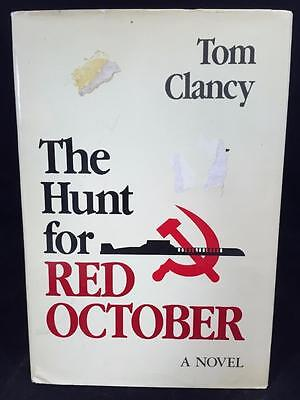 THE HUNT FOR Red October Tom Clancy Book Club Edition Navel Institute Press