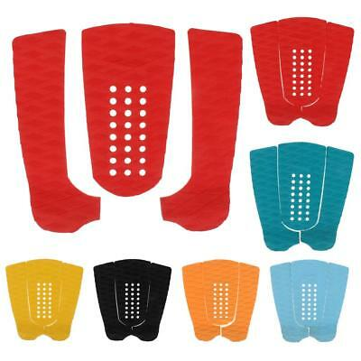 1 Set 3pcs Surfboard SUP Accessories - Traction Pad Surf Board Tailpad Deck Grip