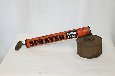 1950s Black Flag Continuous Bug Insect Sprayer by Boyle Midway inc. Vintage SM