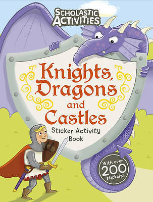 Knights, Dragons and Castles Sticker Activity Bo, Tom Knight, New
