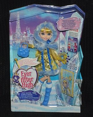 Ever After High Epic Winter Blondie Lockes Doll Daughter of Goldilocks BNIB