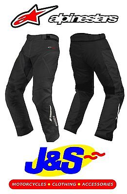 Alpinestars Andes Motorcycle Touring Trousers Motorbike Waterproof Ce Armour
