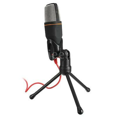 PC Studio Pro Condenser Microphone Mic Sound Recording & Tripod Shock Mount UK