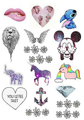 Cute Tumblr Sticker Pack *Pick and Choose*