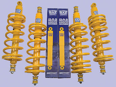 "Land Rover Discovery 1 Suspension +2"" Springs & Shock Kit Medium Duty- Da4286Md"