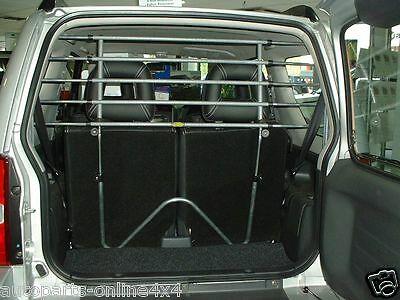 Suzuki Grand Vitara 3 Door 2006 > Saunders Tubular Style  Dog Guard T95