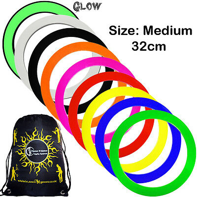 Mr Babache Pro Juggling Rings (Medium- 32cm) Price is for 1 Juggling Ring & Bag