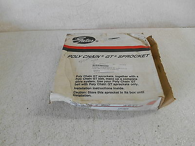 Gates 14M-40S-20 Sf Polychain Gt Sprocket, 40T, 14Mm Pitch 20Mm, Rpm 3670, New