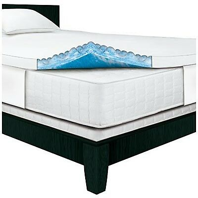 "SertaRest Full 3"" Gel Memory Foam Mattress Topper"