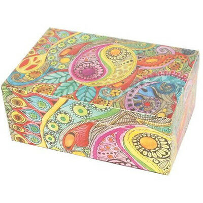 Psychedelic Wooden Box