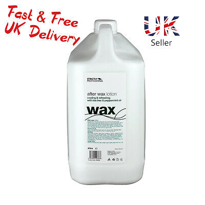 Strictly Professional After Waxing Wax Lotion Tea Tree,Peppermint 4Litre SPB0040