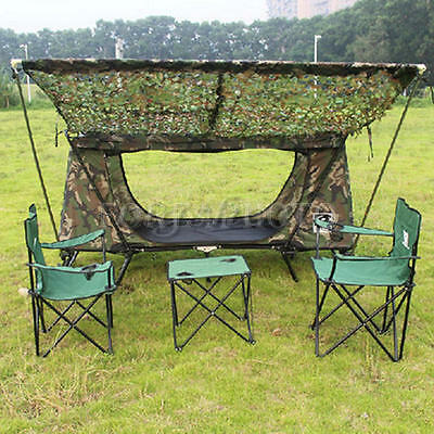 2 X4m Hunting Camping Netting Jungle Camo Woodland Camouflage Net Military Tent
